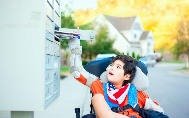 letter to cerebral palsy