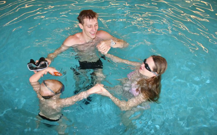 assisted aquatic therapy